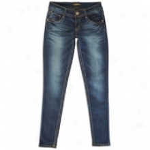 Southpole Skinny Jean W/ Pocket Detail - Womens - Dark Royal