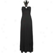 Southpole Solid Color Maxi Halter Get  - Womens - Black