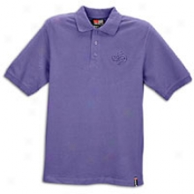 Southpole Solid Pique S/s Polo - Mens - Purple