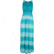 Southpole Tye Dye Maxi Clothe - Womens - Peacock Blue