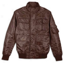 Southpole Utility Jacket - Mens - Dark Brown