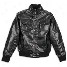 Southpole Utility Pu Jacket - Mens - Black