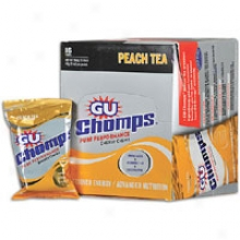 Sports Street Gu Chomps 16 Pack - Peach Tea