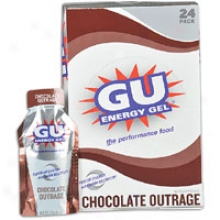 Sports Street Gu Energy Gel 24 Collection - Chocolate Outrage