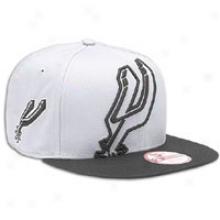 Spurs New Era Nba Big Punch Snapback - Mens - Grey