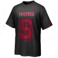 Stanford Nike Rivalry Dri-fit Graphic T-shirt - Mens - Black