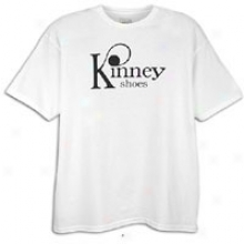 Team Edition Kinney Shoes S/s T-shirt - Mens - White/black
