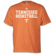 Tennessee Adidas Basketball Practice T-shirt - Mens - Light Orange