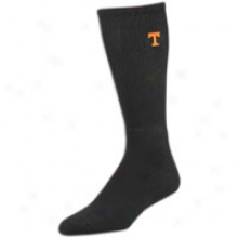 Tennessee For Bare Feet College True Colors Crew Sock - Mens - Black
