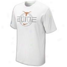 Texas Nike College Elite T-shirt - Mens - White