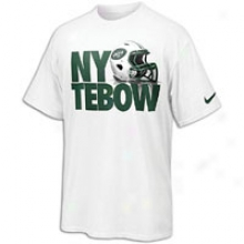 Tim Tebow Nike New York Tebow T-shirt - Mens - White