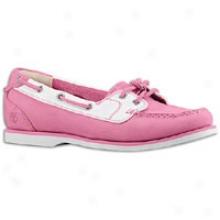 Timberlznd 2 Eye Boat - Women - Pink
