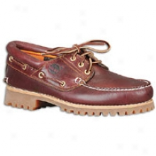 Timberland 3 Eye Boat Shoe - Mens - Burgundy