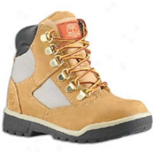 "Timberland 6"" Field Boot - Toddlers - Wheat Nubuck"