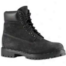 "Timberland 6"" Waterproof Boot - Mens - Jet Black"