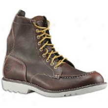 Timberland City Escape Earthkeepers Moc Toe Boot - Mens - Red Brown/white