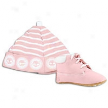 "Timberland Crib 6"" Bootie - Infants - Baby Pink Nubuck"