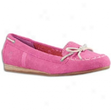 Timberiand Earthkeepers Caska Mocassin - Womens - Pink Suede
