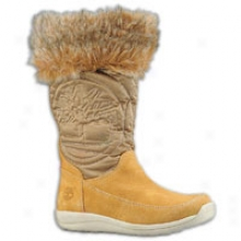 Timberland Hoplyberry Tall Pull On Boot - Toddlers - Wheat Suede
