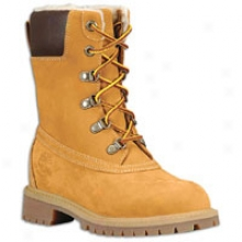 "Timberland Yth 8"" Clsasic Winter Waterproof Boot - Big Kids - Wheat Nubuck"