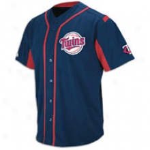 Twins Majestic Wind Up Jersey - Mens - Navy