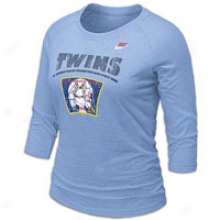 Twins Nike Cooperstown Ragaln - Womens - Light Blue