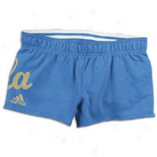 Ucla Adidas College Cheeky Rollover Short - Womens - Light Blue