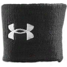 "Under Armour 3"" Performance Wristband - Mens - Blwck"
