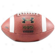 Under Armour 695 Official Size Leather Football - Mens