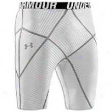 "Under Armour 9"" Core Short - Mens - White/graphiye/black"