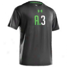 Under Armour A3 T-shirt - Mens - Black/lizard