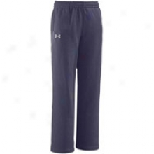 Under Armour Armour Fleece Basic Pant - Big Kids - Midnight Navy/white