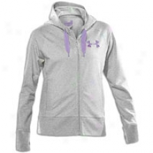 Under Armour Blast Full Zip Hoodie - Womens - True Grey Heather/celebrate