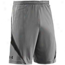 Subordinate to Armour Blitz Microshort - Mens - Graphite/black