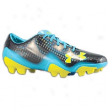 Under Armour Blue Ii Fg - Mens - Black/capri/sun Bleached
