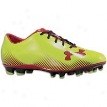 Under Armour Blur Challenge Ii Fg - Mens - Velocity/black/red