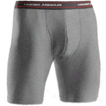"Under Armour Boxer Jock Underwear 9"" - Mens - Medium Grey Heather"