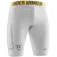 Under Armour Break Iii Slider - Mens - White/aluminum/black