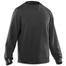 Under Armour Charged Cotton Storm Fleece Crew - Mens - Black/graphite