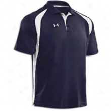 Under Armour Clutcch Polo - Mens - Midnight Navy/white