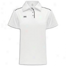 Under Armour Coaches Polo - Womens - White