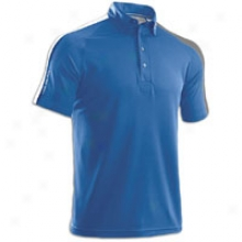 Under Armour Coldblack Cb Golf Polo - Mens - Moody/silver