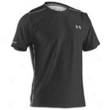 Under Armour Coldblack S/s T-shirt - Mens - Black/silver