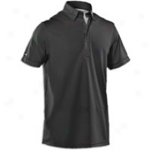 Under Armour Coldblack Uniform Golf Polo - Mens - Black/silver