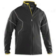Under Armour Cildgear Circuit Softshell Jacket - Mens - Black/taxi