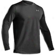 Undsr Armour Coldgear Fitted L/s Crew - Mens - Black