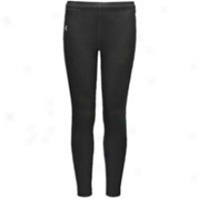 Under Armour Coldgera Leggings - Big Kids - Black