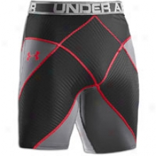 Under Armour Coreshort - Mens - Graphite/black/red/white