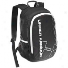 Under Armour Dauntless Backpack - Black/white
