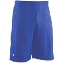 In Armour Dominate Short - Mens - Royal/white